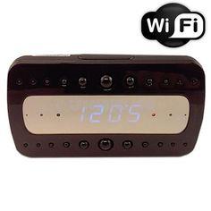WiFi 1080P Mini Clock Hidden Camera with IR - Spy Centre Security