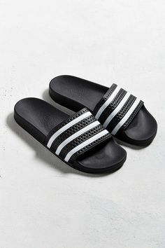 adidas Originals Adilette Pool Slide Sandal - would be perfect to slip on to go take out the trash or run errands!