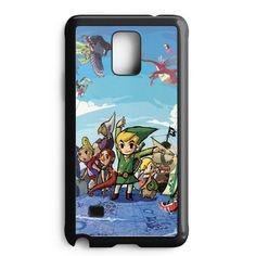 The Legend Of Zelda Samsung Galaxy Note 4 Case