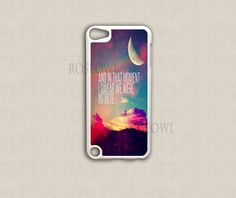 Ipod Touch 5 Case, Ipod Touch 4 Cases - Infinite Love Cute Quote Lovely - Ipod Cover for 4th gen and 5th Generation Itouch
