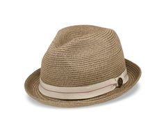 Humphrey - This A-crown straw fedora makes a stylish and rugged companion  for springtime 21b604ca482