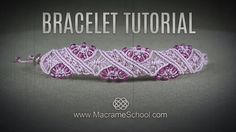 Beaded Macramé Flower Bracelet TUTORIAL in Boho Style | DIY