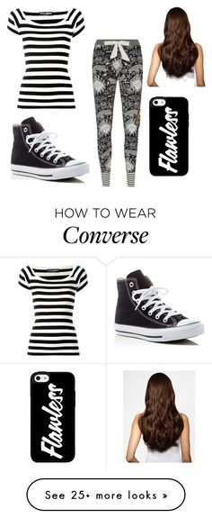 """Untitled #72"" by cocolouise22 on Polyvore featuring Dolce&Gabbana, Converse, Hershesons and patternmixing"