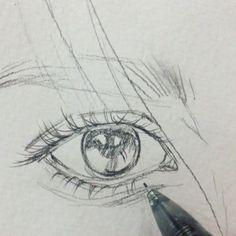 """17.8k Likes, 122 Comments - Леся Поплавская (@lesya_poplavskaya) on Instagram: """"Прям макро выходит #акварель #watercolor #art #drawing #sketch #wip #рисунок #живопись #портрет…"""""""