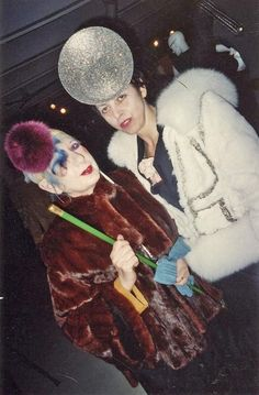 Anna Piaggi and Isabella Blow by autumn