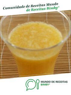 Sumo de banana, laranja e pêra de dulcepigmenta. Receita Bimby<sup>®</sup> na categoria Bebidas do www.mundodereceitasbimby.com.pt, A Comunidade de Receitas Bimby<sup>®</sup>.
