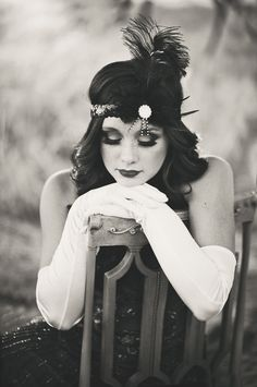 If i could go back to an era it would have to be the 1920's. Beautiful dresses… Amanda