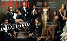 Tento rok na oslavu 20. výročia špeciálnej obálky Vanity Fair Hollywood, časopis oslavuje nominovanými hercami na Oscara za rok 2013. Rozkladacia titulka, na ktorej má veľkú zásluhu aj  fotografka Annie Leibovitz