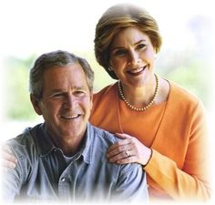 George and Laura Bush. Honest, decent and good people.