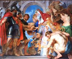 Hebrews 5:1-6 The Meeting of Abraham and Melchizedek by Peter Paul Rubens