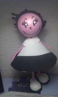 Muñeca tarta (creada por mi y unas amigas)