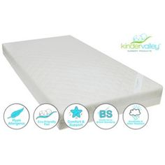 Buy Kinder Valley Deluxe Spring Cot Mattress at Argos.co.uk, visit Argos.co.uk to shop online for Cot and cot bed mattresses, Cots and cot bed mattresses