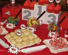 Car Themed Parties, Cars Birthday Parties, 3rd Birthday, Blaze The Monster Machine, Car Themes, Disney Cars, Baby Shower, Holidays And Events, Lightning Mcqueen
