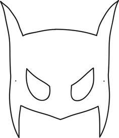 Halloween mask templates   super hero   Pinterest   Mask template ...