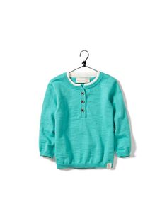 baby zara JUMPER WITH BUTTONS AND ELBOW  PATCHES