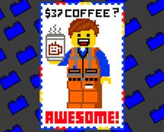 Hey, I found this really awesome Etsy listing at https://www.etsy.com/listing/199284426/37-dollar-coffee-awesome-emmet-holding