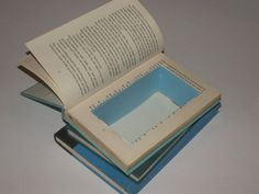 Stacked Hidden Book Stash by FunEclecticHF on Etsy, $35.00