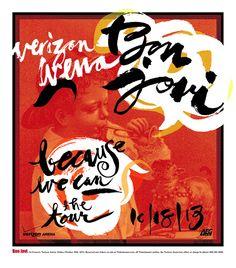 Bon Jovi by Jamie Burwell Mixon