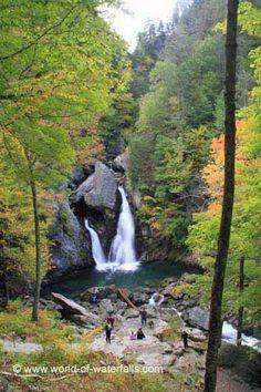 Our first look at Bash Bish Falls, Berkshire County / Mt Washington, Massachusetts