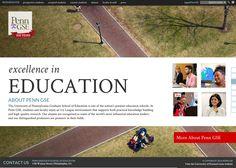 UPenn Grad School Site
