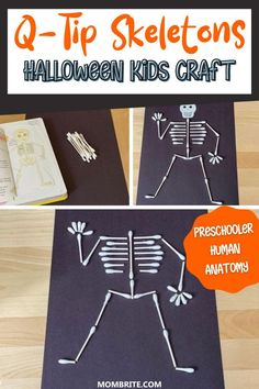 Halloween Arts And Crafts, Halloween Decorations For Kids, Halloween Crafts For Toddlers, Theme Halloween, Toddler Crafts, Halloween Kids, Diy For Kids, Fun Crafts, Bonfire Crafts For Kids