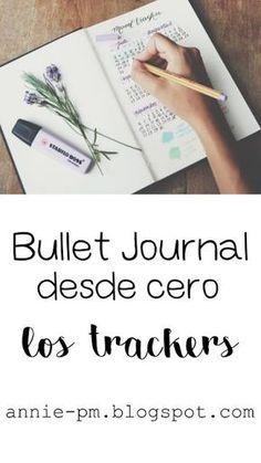 Bullet Journal desde cero: los trackers