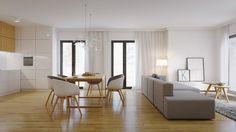 Des idées pour combiner le bois et la couleur blanche dans la salle à manger