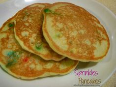 Sprinkles Pancakes