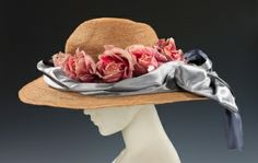 So pretty! Hat by Madame Alphonsine, 1910