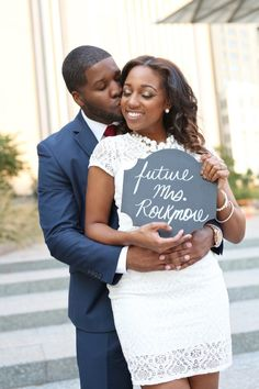 Shaunta and Leon's Oklahoma City engagement session was a fun mix of modern and fantasy. Take a look at their e-session photographed by Enamored.