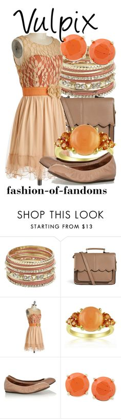 """""""Vulpix"""" by fofandoms ❤ liked on Polyvore featuring Wet Seal, ASOS, Ryu, Lanvin and FOSSIL"""