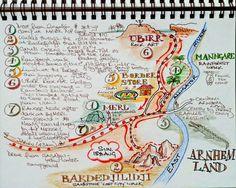Story Map from my travel journal when at Kakadu, Australia