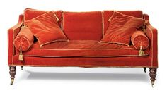 A PAIR OF WILLIAM IV SIMULATED ROSEWOOD SOFAS   ATTRIBUTED TO GILLOWS, CIRCA 1830-35