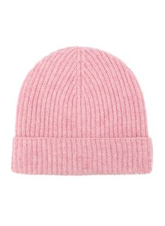 Cashmere Ribbed Hat alternative image