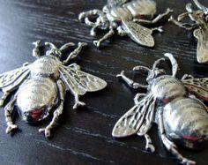 Destash (3) Lg Honey Bee Charm Pendant