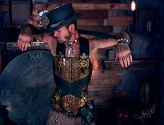 Hey, I found this really awesome Etsy listing at https://www.etsy.com/listing/244403503/steamer-trunk-male-corset