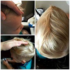 DIY Toddler Boy Haircut | julesandco.net