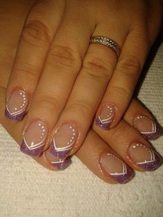 Wedding Nails-A Guide To The Perfect Manicure – NaiLovely Acrylic Nail Designs Glitter, Nail Designs Bling, Bling Acrylic Nails, Nails Design With Rhinestones, French Nail Designs, Nail Art Designs, French Nails, French Manicure Nails, Manicures