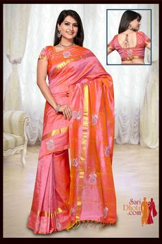 Designer #silk sarees for party and #wedding online, Shop Now Here >> http://www.saridhoti.com/