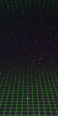 Dark Green Wallpaper, Grid Wallpaper, Trippy Wallpaper, Neon Wallpaper, Cellphone Wallpaper, Wallpaper Backgrounds, Dark Green Aesthetic, Retro Aesthetic, Vaporwave Wallpaper
