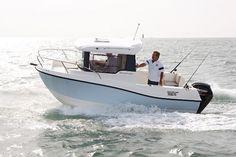 Barca da pesca e diporto fuoribordo 555 PILOTHOUSE Quicksilver Boats