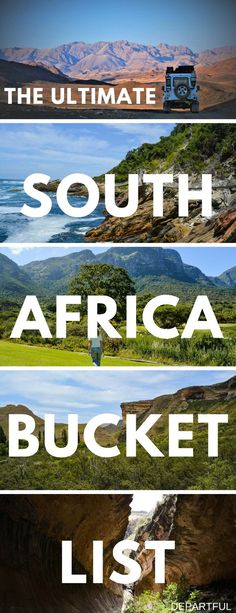 South Africa is an amazing travel destination! If you're planning a trip, you need our list of top things to do in South Africa, which is best explored on a road trip. The full list includes interesting cities Cape Town and Johannesburg, breathtaking natu South Africa Safari, Cape Town South Africa, East Africa, Kruger National Park, Africa Destinations, Travel Destinations, Travel Tips, Travel Advisor, Travel Ideas