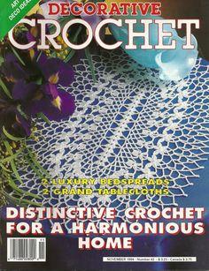 Vintage Decorative Crochet magazine