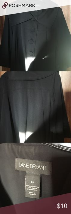 Swing Blazer LB Crop Swing Blazer. Covered buttons. No damages and pet free. Lane Bryant Jackets & Coats Blazers