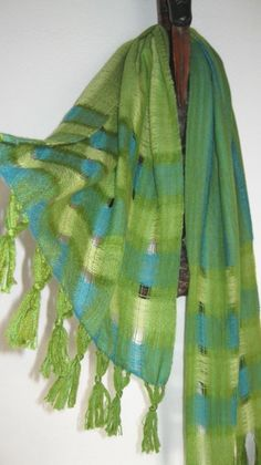 Handwoven Scarves and Shawls Unique Textiles by tisserande