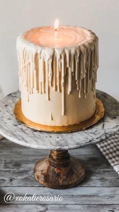 Pretty Birthday Cakes, Pretty Cakes, Cute Cakes, Beautiful Cakes, Amazing Cakes, Sweet Cakes, Gothic Birthday Cakes, Fall Birthday Cakes, Yummy Cakes