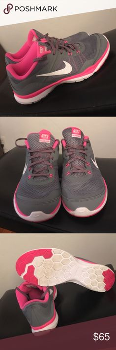 Nike training flex TR 5 2015 Worn only once very nice running shoes Nike Shoes Athletic Shoes