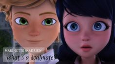 marinette & adrien | what's a soulmate? This is not mine video, it is from the rightful owner; tripleabatteries. Beautiful video girl, keep doing what you do!