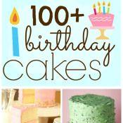 100+ Yummy Birthday Cake Ideas   www.somethingswanky.com