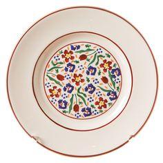 Wild Flower Meadow on a side plate. Nicholas Mosse Pottery.